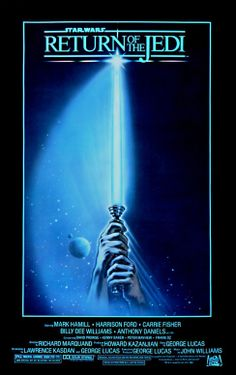 Movie Poster Art. Star Wars: Return Of The Jedi (1983)