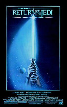 Movie Poster Art. Star Wars: Return Of The Jedi (1983)