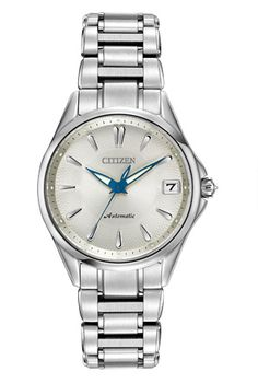 Citizen® Signature Womens Stainless Steel Grand Classic Watch found at Rolex Watches, Watches For Men, Lace Sheath Dress, Kay Jewelers, Stainless Steel Case, Michael Kors Watch, Jewelry Stores, Bracelet Watch, Jewelry Watches