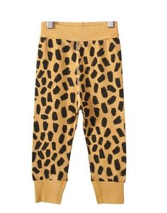 Leopard Leggings Rib from Bobo Choses at Kidsen