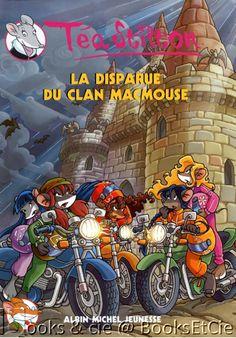 €8.00 - Téa Stilton, Tome 9 : La disparue du clan MacMouse. Parties à la recherche de leur amie Mairi, les Téa Sisters se laissent envoûter par l'ambiance magique de l'Ecosse... >>> Livre d'occasion en vente chez #BooksEtCie, France www.rebelmouse.com/booksetcie £8.00