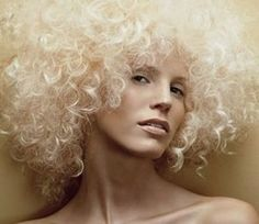 Blonde Afro hairstyle for women.jpg