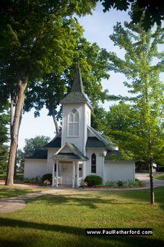 Bay View Petoskey Michigan Crouse Chapel Wedding Photo
