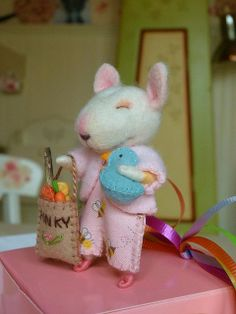 A very special Pinky! by helenpriem, via Flickr