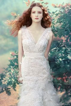ethereal wedding gown collections | Ethereal Wedding Dresses from Alena Goretskaya 2013 Bridal Collection ...