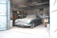 1966 Aston Martin DB6 http://www.gleems.com/535211/26-unbelievable-barn-finds