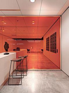 Glass partition wall KRISTAL 10 - Arcadia Componibili - Gruppo Penta