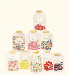 yummy pastel candies for me to eat, by amy borrell, cakewithgiants.com