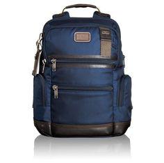TUMI MENS ALPHA BRAVO KNOX BACKPACK 223681 Navy Blue #TUMI #Backpack