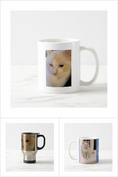 Red Point Ragdoll Cat Mugs