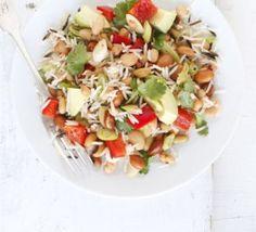 Mexican rice & bean salad