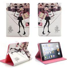 Élégant en cuir PU Folio romantique Filp cas de couverture de cas de stand Smart Cover pour iPad Air – EUR € 22.07