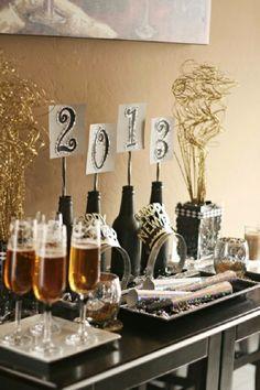 Noiva com Classe: 30 Arranjos de Mesa de Ano Novo: Ideias de Decoração para Festas, Aniversários e Jantares de Réveillon