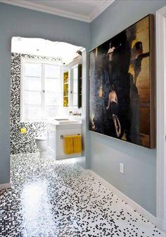29 Best Creative 3d Bathroom Floor Images Home Decor Bathroom - Delightful-art-on-tiles-by-okhyo