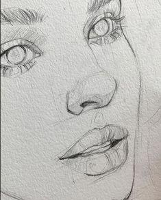 Untitled me pin autos com gustavklimt drawings klimtdrawings p - Easy Pencil Drawings, Cool Art Drawings, Realistic Drawings, Easy Hand Drawings, Pencil Sketching, Small Drawings, Free Hand Drawing, Art Drawings Beautiful, Horse Drawings