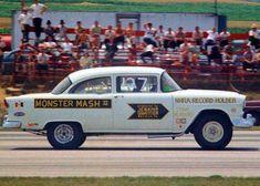 Chevy Ssr, 1955 Chevy, 1955 Chevrolet, Chevy Nova, Classic Trucks, Classic Cars, Buick Wagon, Old Race Cars, Vintage Race Car