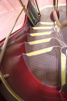 London bus interior