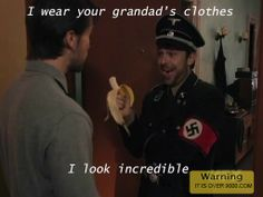 LOL! Check this out Thrift Shop Nazi