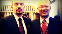 Thorsten Pattberg with WANG Enge, President of Peking University