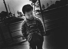 Daido Moriyama, A boy in Matsushima, 1974. © Daido Moriyama, Courtesy of Daido Moriyama Photo Foundation.