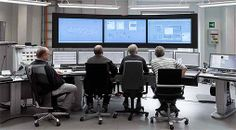 Three control rooms in the combat against greenhouse gas emissions