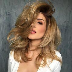 cool Модный цвет волос 2016 на женские локоны — Фото главных тенденций Читай больше http://avrorra.com/modnyj-cvet-volos-zhenskij-foto/