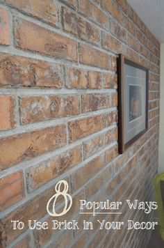 BRICK....Traditional, timeless, & terrific!