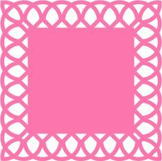 Silhouette Design Store - View Design #53634: square doily background