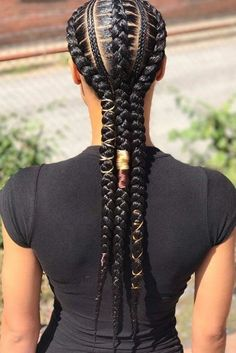 Creative Feed In Braids #braids #naturalhair ❤️ Whatever black braided hairstyles African Americans show up with always look amazing! Want to be on point too? Dive in our gallery: Senegalese twists, cornrows, simple braided updos, and lots of protective styles for women are here! ❤️ #lovehairstyles #hair #hairstyles #haircuts Cornrows Braids For Black Women, Black Girl Braids, Braids For Black Hair, Girls Braids, Cute Braided Hairstyles, African Braids Hairstyles, Black Girls Hairstyles, Hairstyles Haircuts, Twist Cornrows