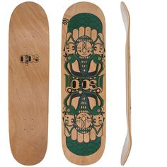Garantindo o melhor estilo para seu skate, o Shape Solo Decks Mask Green 8041 também oferece maior qualidade às suas manobras. Além disso, ele tem composição em lâminas de madeira e é ideal para você!