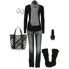 perfect winter outfit.