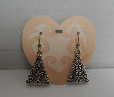 Genuine Brighton J6352 Noelle French Wire Christmas Holiday Tree Earrings NEW #Brighton #DropDangle