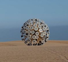 Mine Kafon Wind-Powered Land Mine Clearing Device - Now that is design that is saving the world.