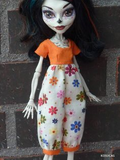Romper for Monster High dolls. por Kosucas en Etsy