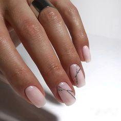 Natural Manicure Classy Shellac 51 Ideas For 2019 Pretty Nail Designs, Nail Art Designs, How To Do Nails, Fun Nails, Organic Nails, Nagellack Trends, Classy Nails, Super Nails, Nails Inc