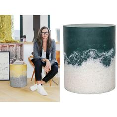 Salt of the Earth - Concrete stool or side table