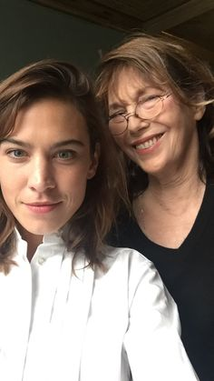 Alexa Chung and Jane Birkin (September 23, 2017)