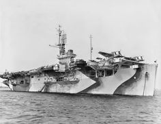 USS Bogue (CVE-9) was the lead ship in the Bogue-class of escort aircraft carriers in the USN during WWII. She was originally classified AVG-9, but was changed to ACV-9, then CVE-9 and finally CVHP-9. Bogue was laid down on 01/10/41 as Steel Advocate (hull 170) under Maritime Commission contract by Seattle-Tacoma Shipbuilding . She was launched 15 January 1942; transferred to the United States Navy 1 May 1942; and commissioned 26 September 1942, Captain G. E. Short in command.