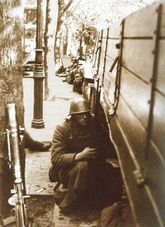 Dutch soldiers during the Invasion of the Low Countries