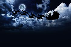 santa flying in the sky   The science of Santa's sleigh   Philippine Science Centrum