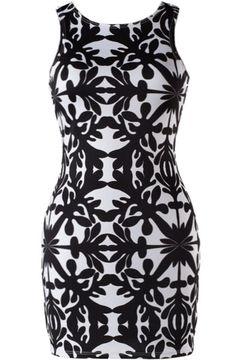 Deco Drama Dress | Floral Monochrome Dresses | Rickety Rack