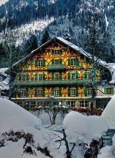 Bavarian house, close to Linderhof Palace, Germany