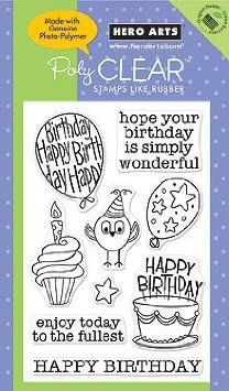 Amazon.com: Wonderful Birthday - Clear Rubber Stamps: Arts, Crafts & Sewing