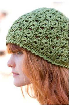 Broomstick Lace Hat by Margaret Hubert; free