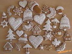 Amazing czech gingerbreads
