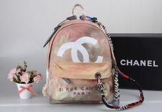Original Chanel Paris Rucksack Aprikot Hobo Damen Tasche Schultertasche preiswert günstig billig gut