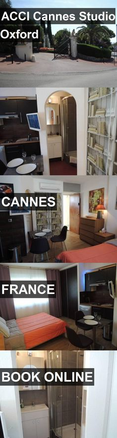 Hotel ACCI Cannes Studio Oxford in Cannes, France. For more information, photos, reviews and best prices please follow the link. #France #Cannes #travel #vacation #hotel