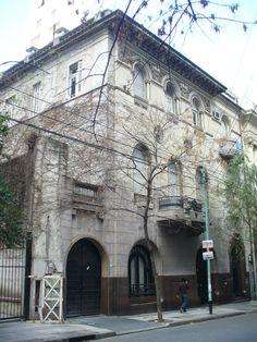 Azcuenaga Street, Italian Arquitecture. Buenos Aires