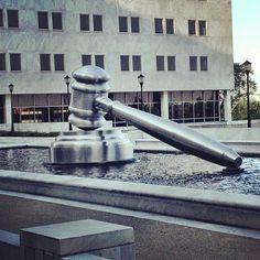 Public art outside the #Ohio Supreme Court in #Columbus