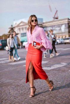 Cómo combinar el color rojo: fotos de los looks | Ellahoy